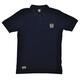 Brick Lane Bikes London Small Badge T-skjorte Herre Blå